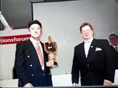 2000年ドイツ国際コンテストにて 金・銀・銅メダル受賞!